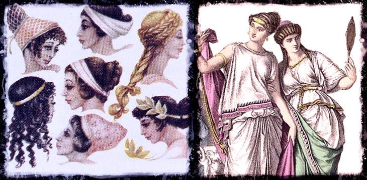История древних причесок