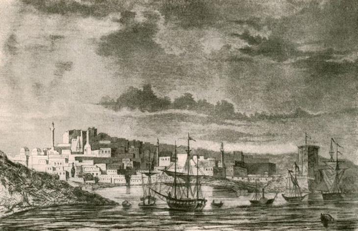 Баку на исторических картинах, рисунках и гравюрах