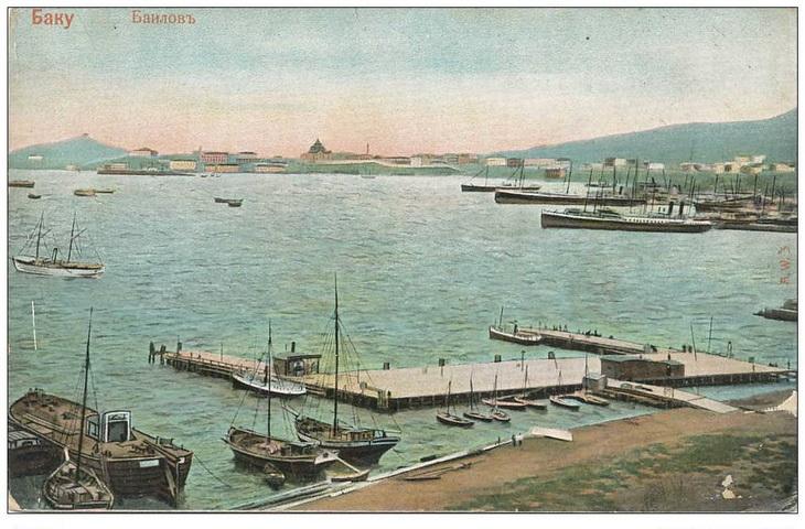 Бакинский поселок Баилов в начале ХХ века и ранее (21 фото)