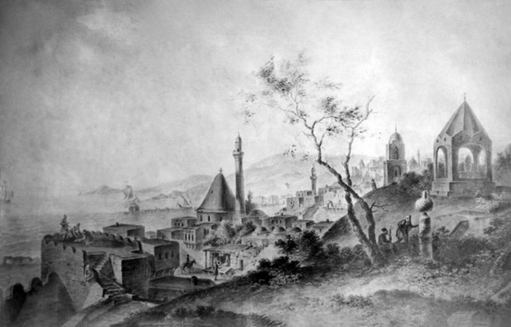1796. Г.С. Сергеев. Вид на старую Джума мечеть