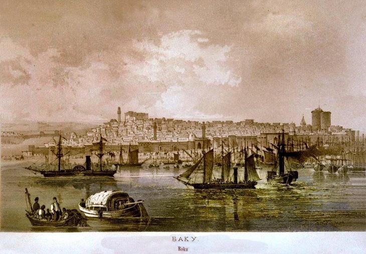 Баку и Сумгаит (1861-1865). По рисункам Карла Гипписуса (ФОТО)