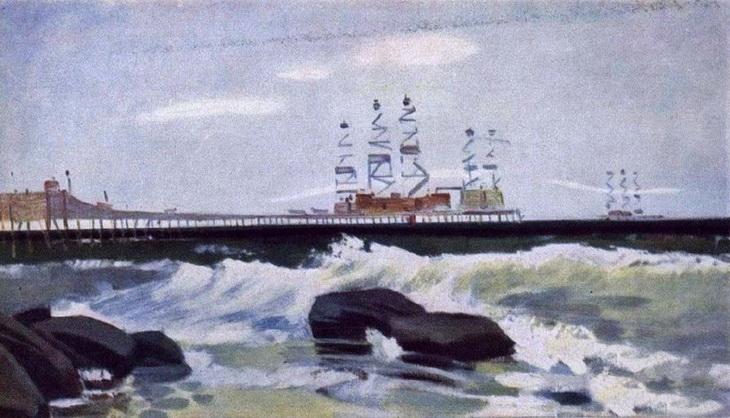 Нефть и Баку в живописи Надира Касумова (11 ФОТО)