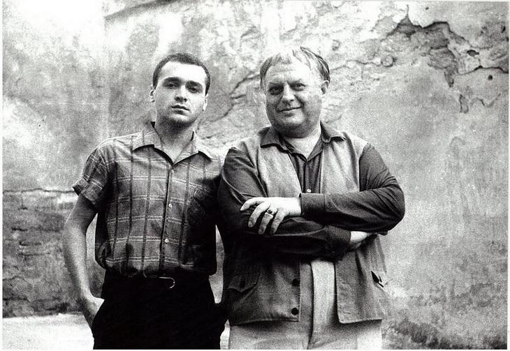Григорий Шпигель и Фикрет Алекперов