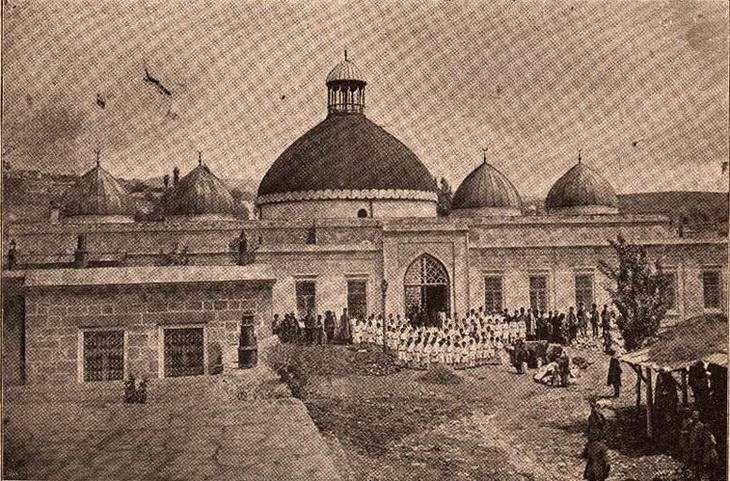 1895-1901. Шемаха, Джума-мечеть
