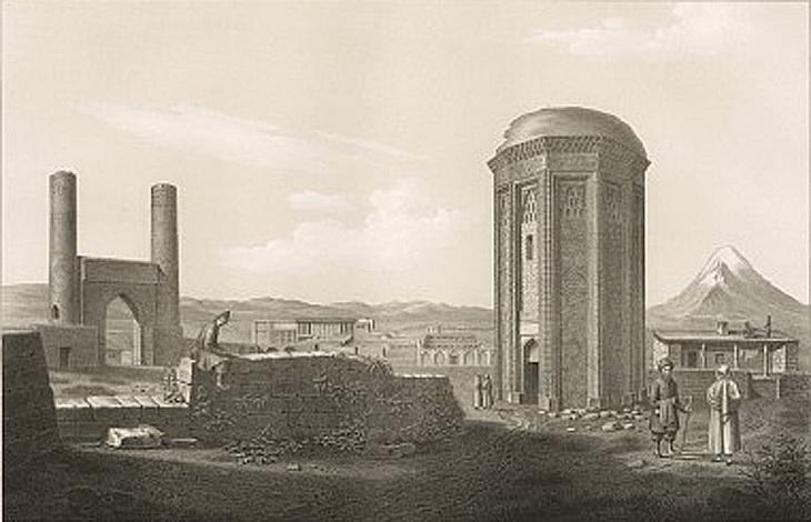 Азербайджан и Эривань 1833-1834 годов в зарисовках Дюбуа де Монпере (12 ФОТО)