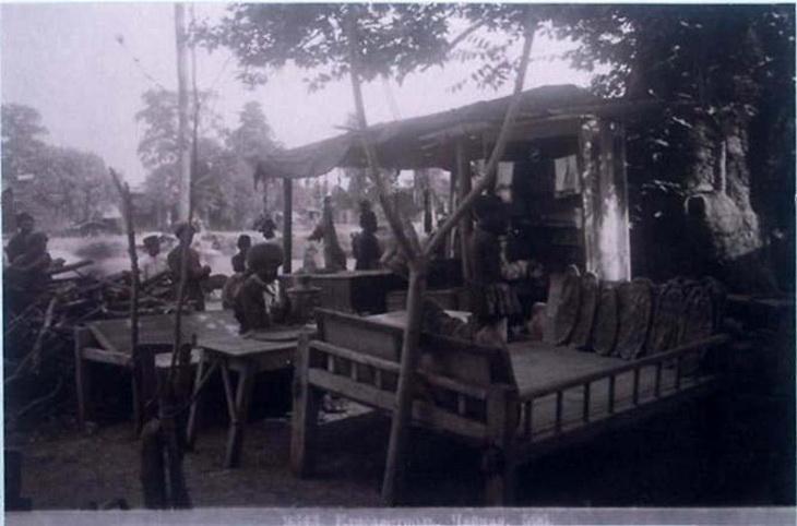 Чайхана в Гяндже. Фото Дмитрия Ермакова, 1880-е