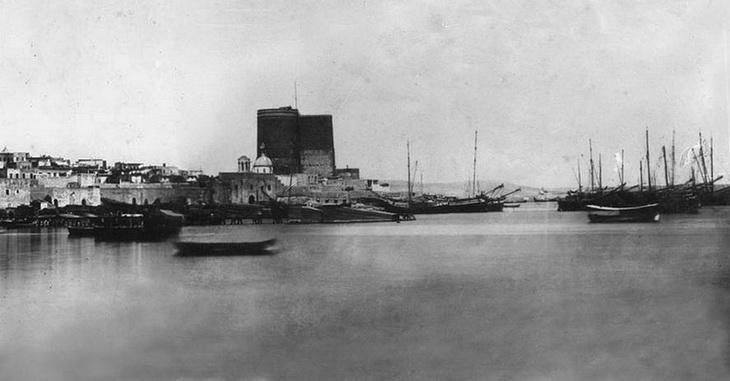 Баку середины XIX века на фото А.Ульского (14 ФОТО)