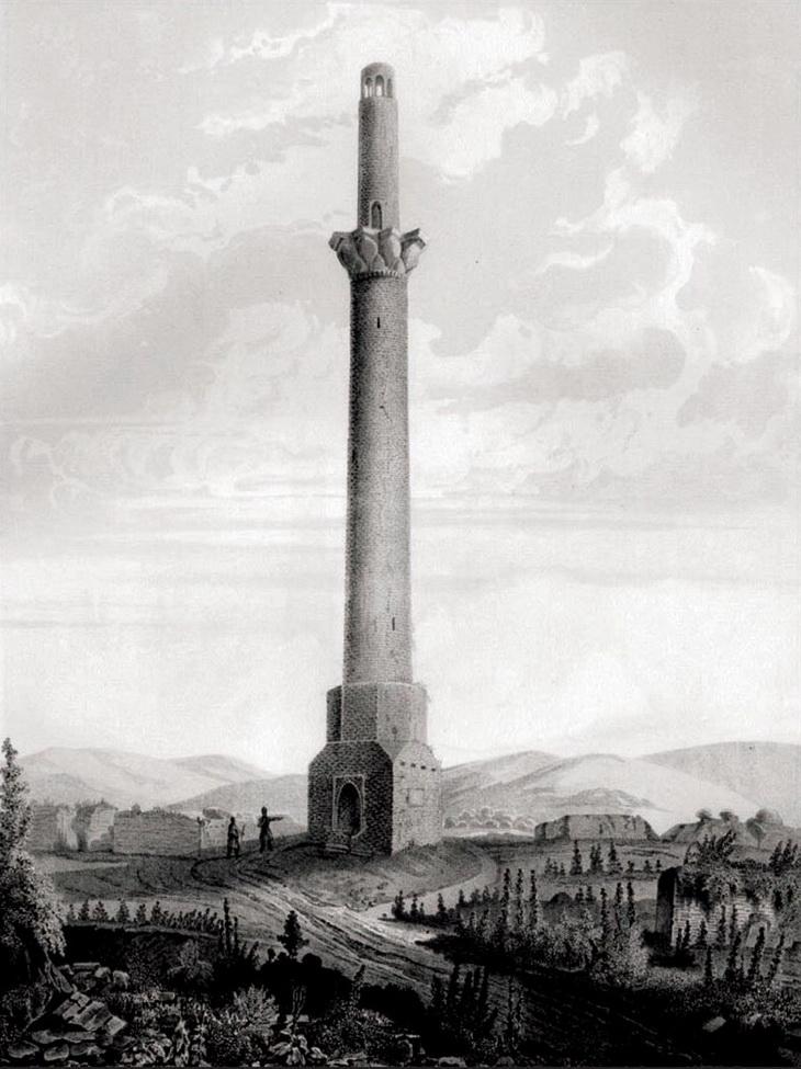 1833-1834. Фредерик Дюбуа де Монпере (рисунок)