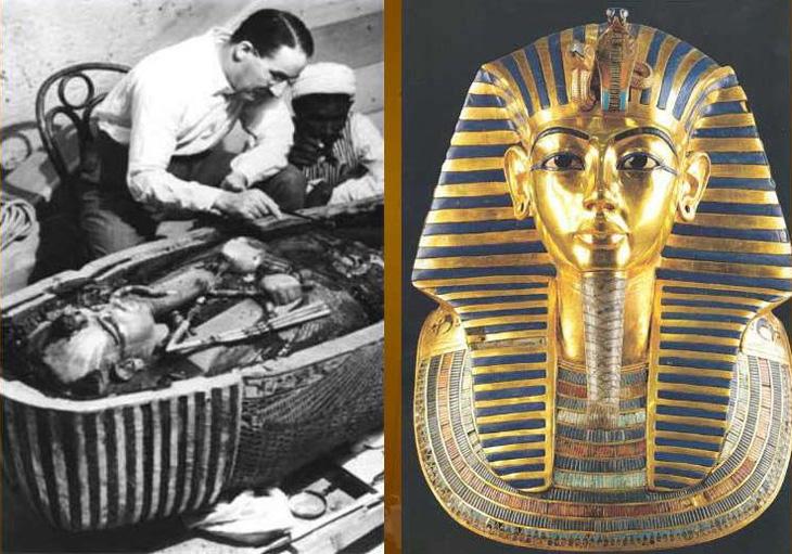 История гробницы Тутанхамона