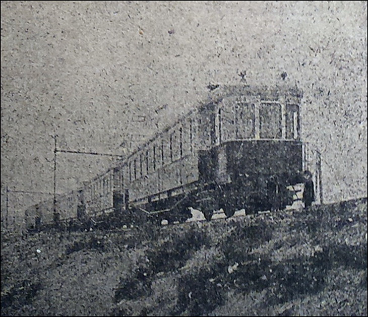 1926-1932. Электропоезд в пути