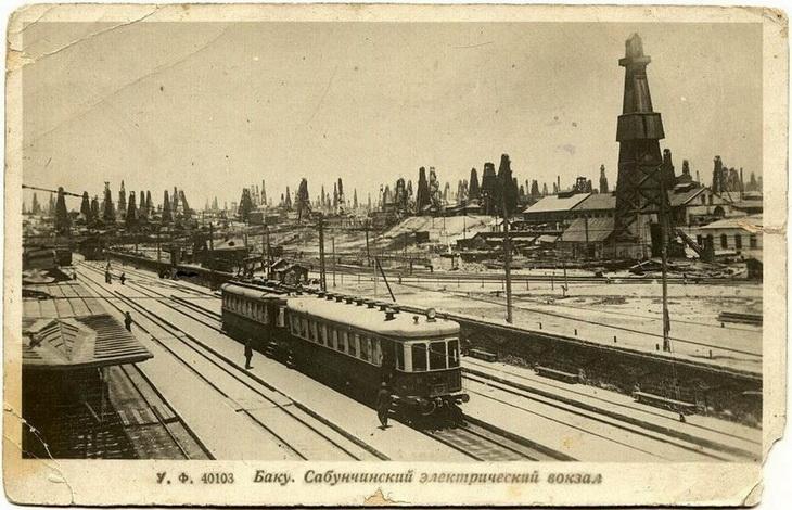 1927. Сабунчинский электрический вокзал (2)