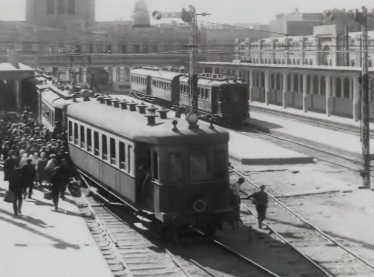 1930-е. Баку, электричка