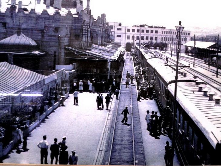 1930-е. пути станции Баку-Пассажирская старое название Баку-I и расположенного на ней Тифлисского вокзала (2)