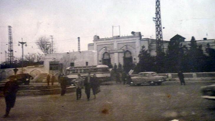 1960-е. ЖД станция в Сабунчах