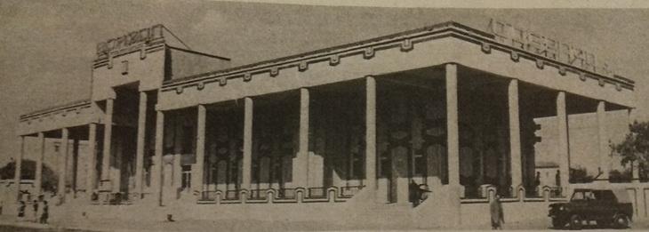 1985. Новопостроенный вокзал в Сабунчах