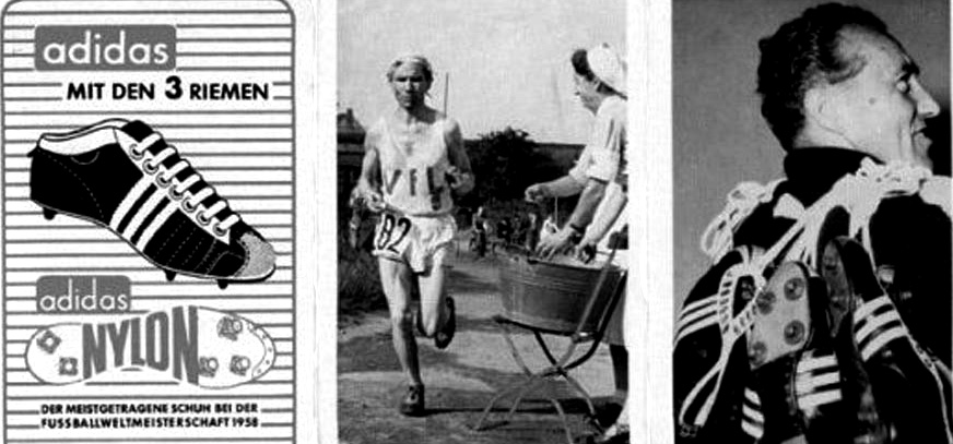Давняя история кроссовок Adidas