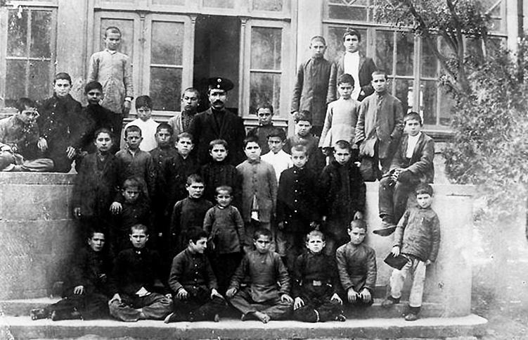 Тагиевская школа земледелия и садоводства в Мардакянах