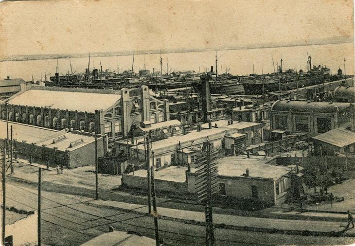 Баиловский промышленный район. Завод им. Парижской коммуны