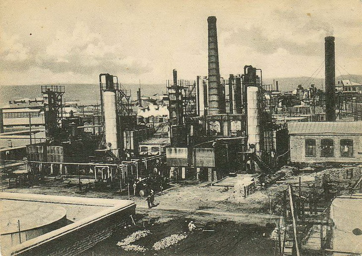 Промышленный Баку на открытках 20-30-х годов (26 ФОТО)