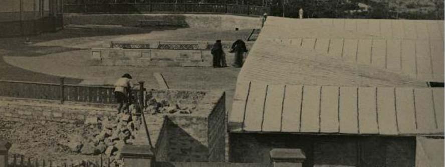 Фото А.Мишона 1890-х годов. Вид со стороны ул. Николаевская, фрагмент