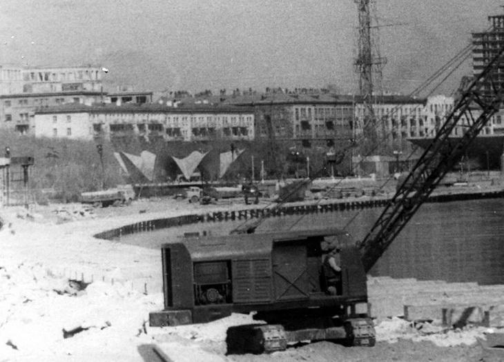 Фото середины 1960-е годов. Реконструкция бульвара