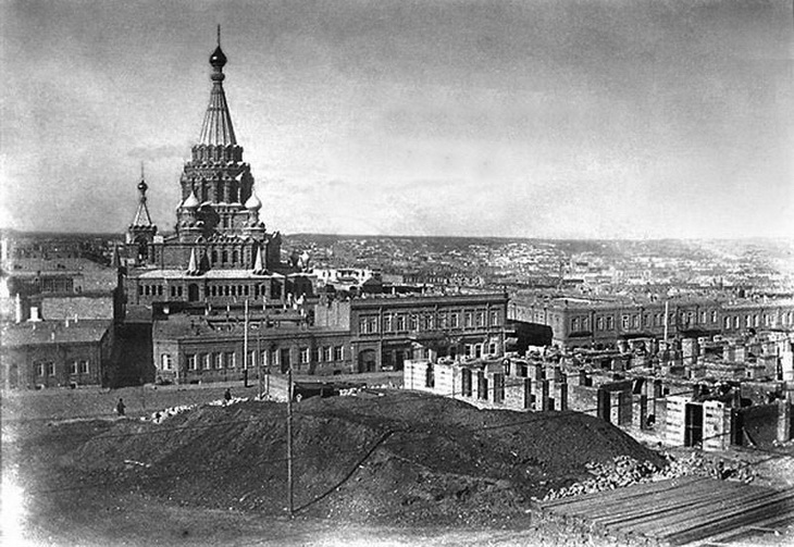 Собор Александра Невского: исчезнувшее архитектурное чудо Баку (34 ФОТО)