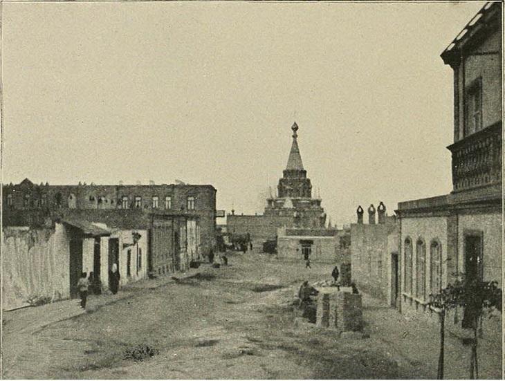 Вид на собор со стороны ул. Водовозной, 1898 год