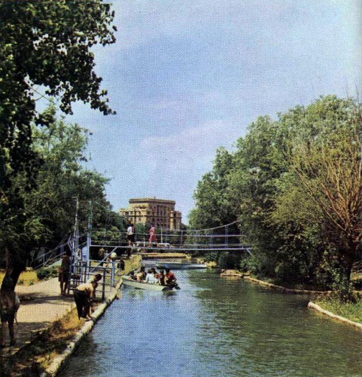 1970 год. Фото опубликовано в фотоальбоме «Баку»