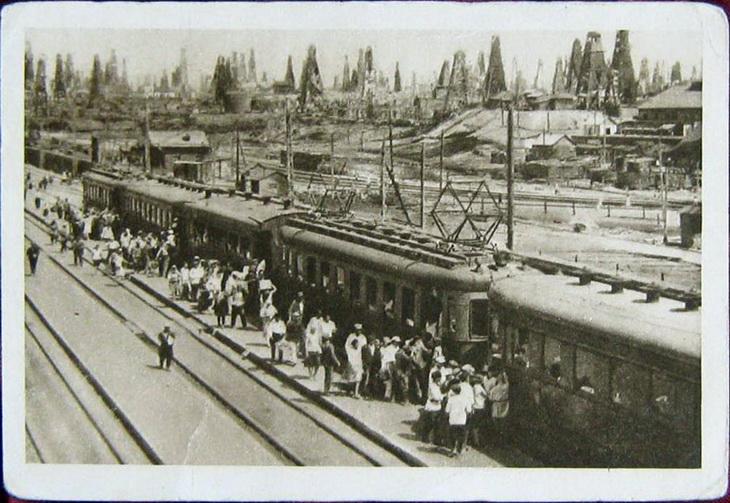 Электрическая железная дорога, Сабунчи