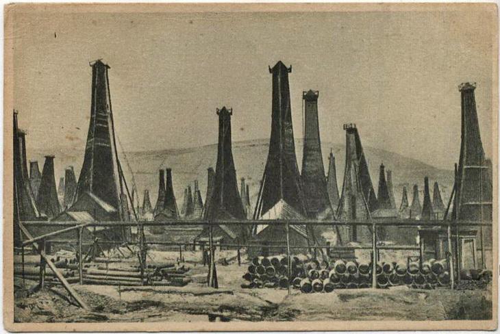Биби-Эйбат. Открытка 1920-х годов по старому фото начала ХХ века