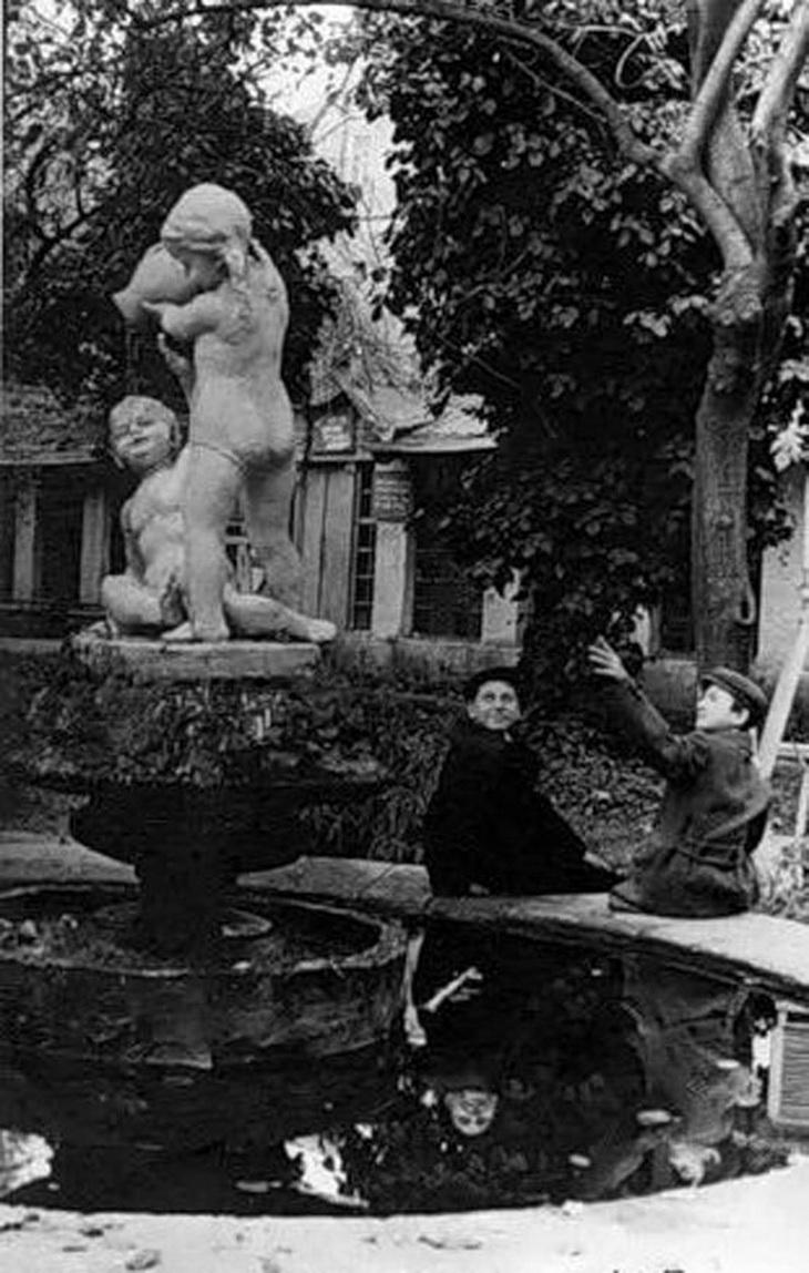 Фото примерно 1967 года. Сад Пионеров, бывший Губернаторский