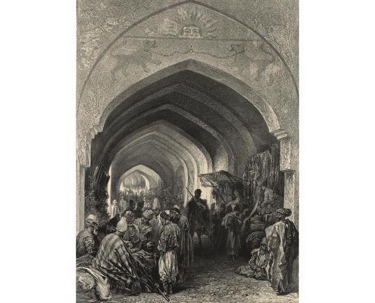 1840-1853. Караван-сарай в Эривани