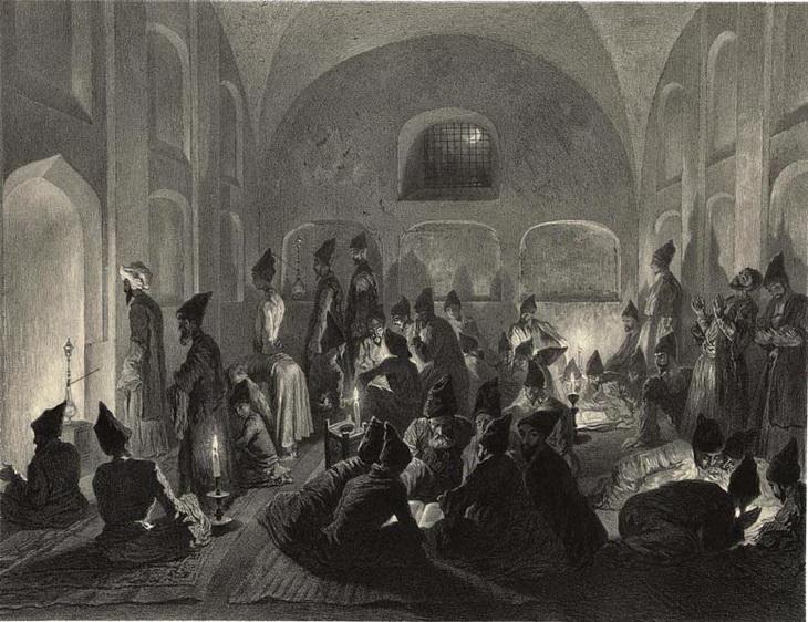 1840-1853. Мечеть в Эривани