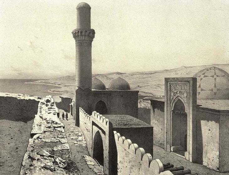 1842-1853. Ханская мечеть и усыпальница