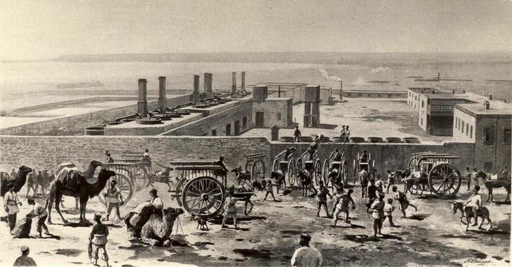 Первый в Азербайджане и Российской империи нефтепровод (19 ФОТО)