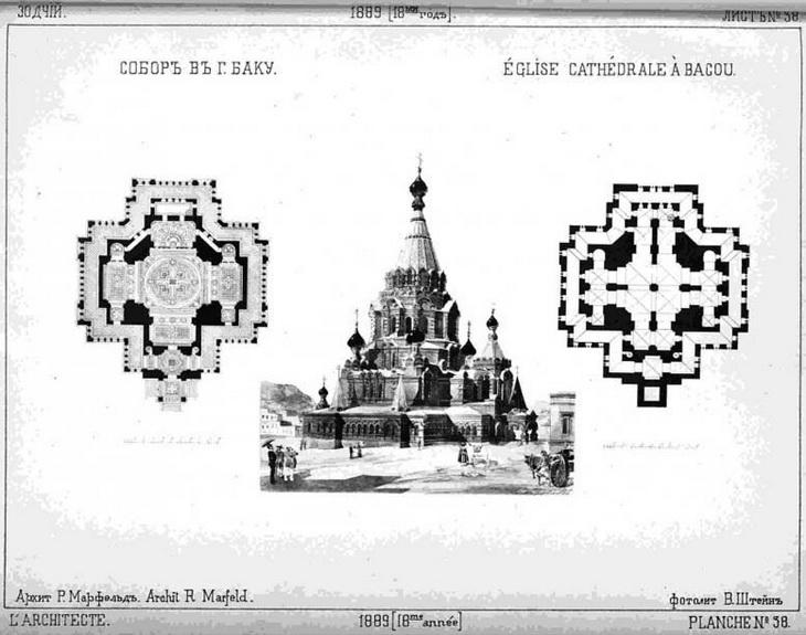 Иллюстрация из журнала Зодчий, 1889 год