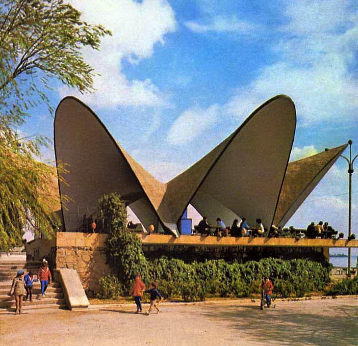 1970 год. Фото из фотоальбома «Баку»