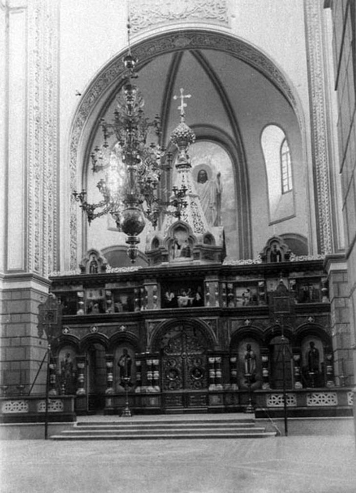 Интерьер. Фото начала ХХ века