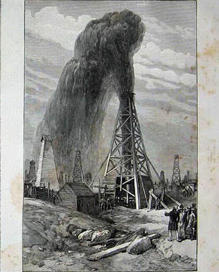 Рисунок В.Симпсона на основе фото Дмитрия Ермакова 1886 года