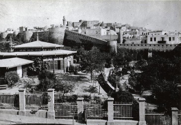 Губернаторский сад Баку в 1901-1918 гг. (25 ФОТО)