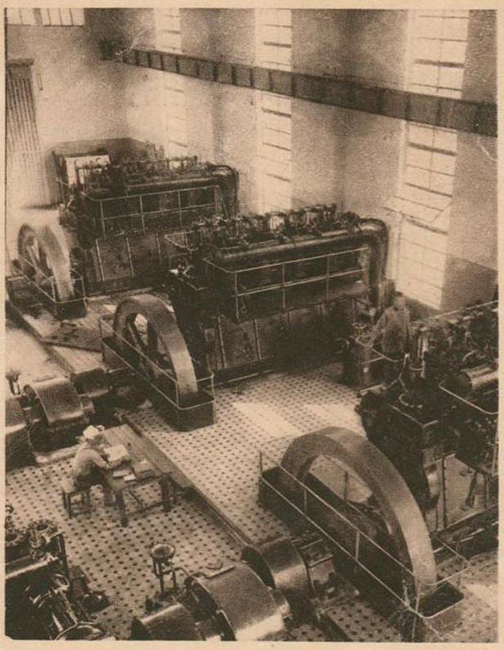 Из серии журнала «СССР на стройке». Головная нефтеперегонная станция Баку-Батум. Фото А.Шайхета