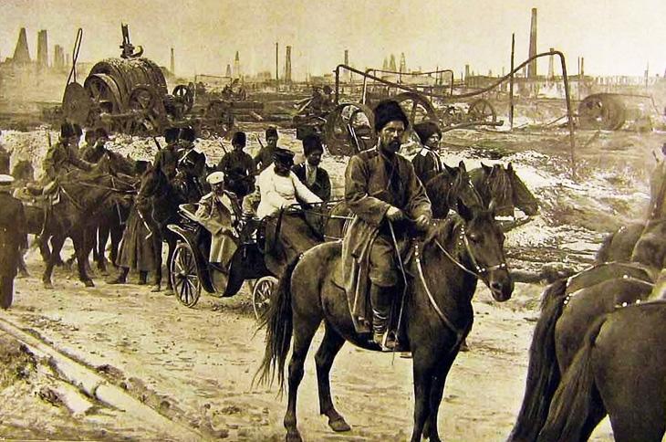 История появления анархистов в Баку