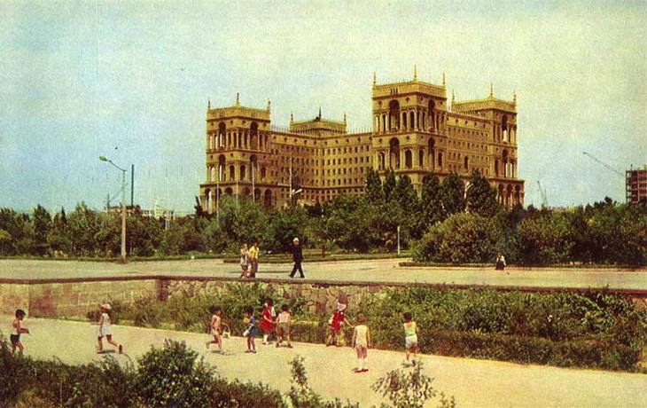 Баку на открытках 1974 года (26 ФОТО)