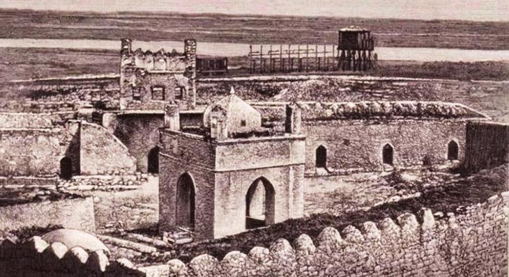 Средние века: Баку и зороастризм