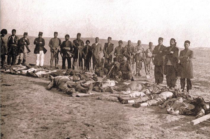 Лянкяранский геноцид, учиненный армянами в 1918-1919