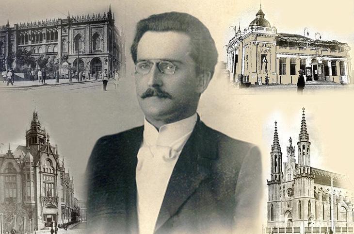 Иосиф Плошко - польский архитектор, творивший в Баку