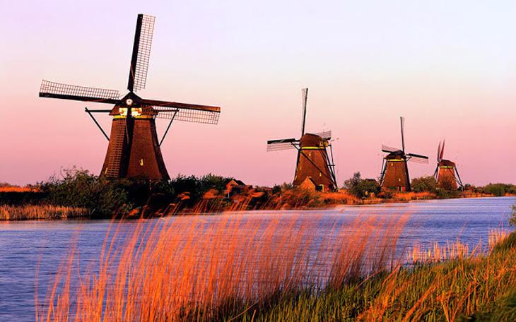История ветряной мельницы