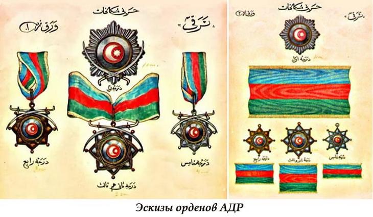 Награды и памятные знаки АДР, АзССР и ЗСФСР (ФОТО)