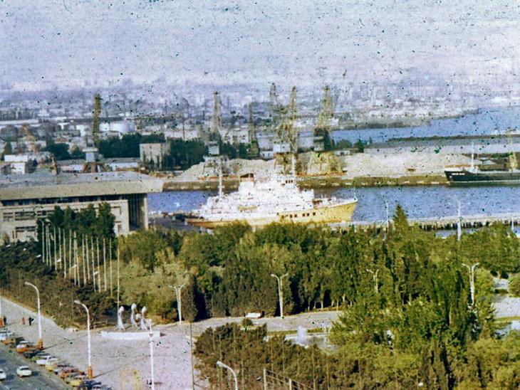Баку – морской порт.
