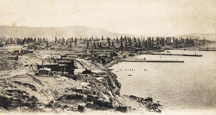 Нефть Баку и деньги Ротшильдов